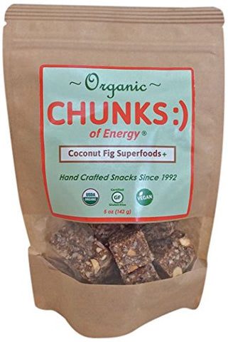 Chunks of Energy Organic Superfoods Plus, Coconut Fig, 5 Ounce