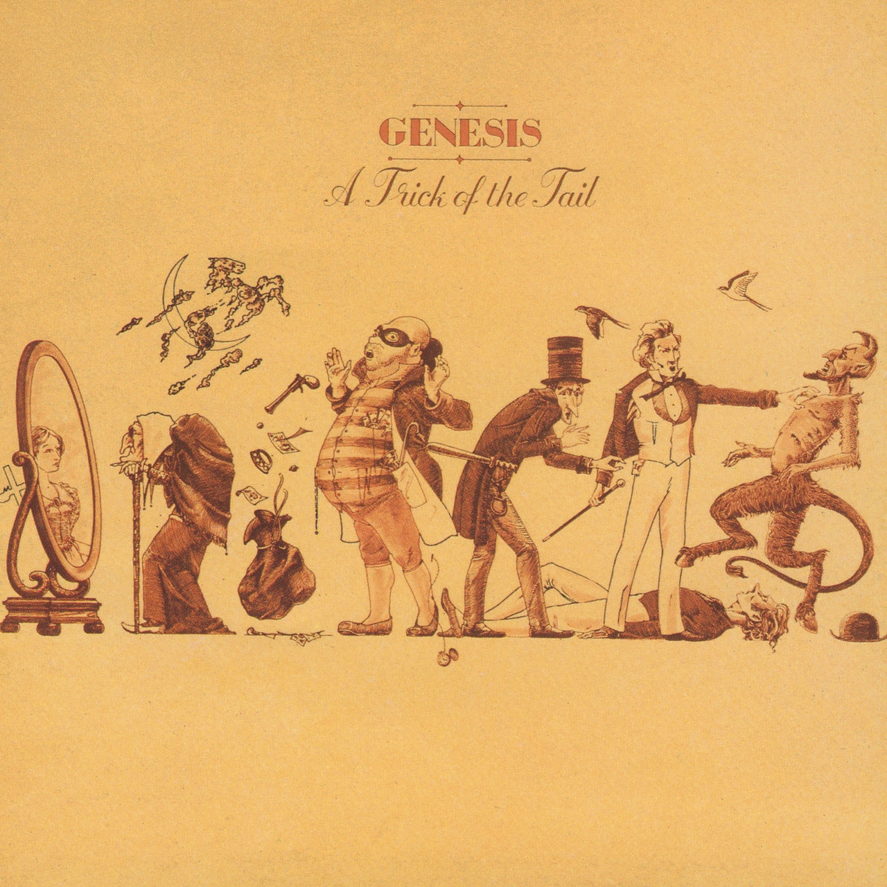Genesis : A Trick Of The Tail  CD