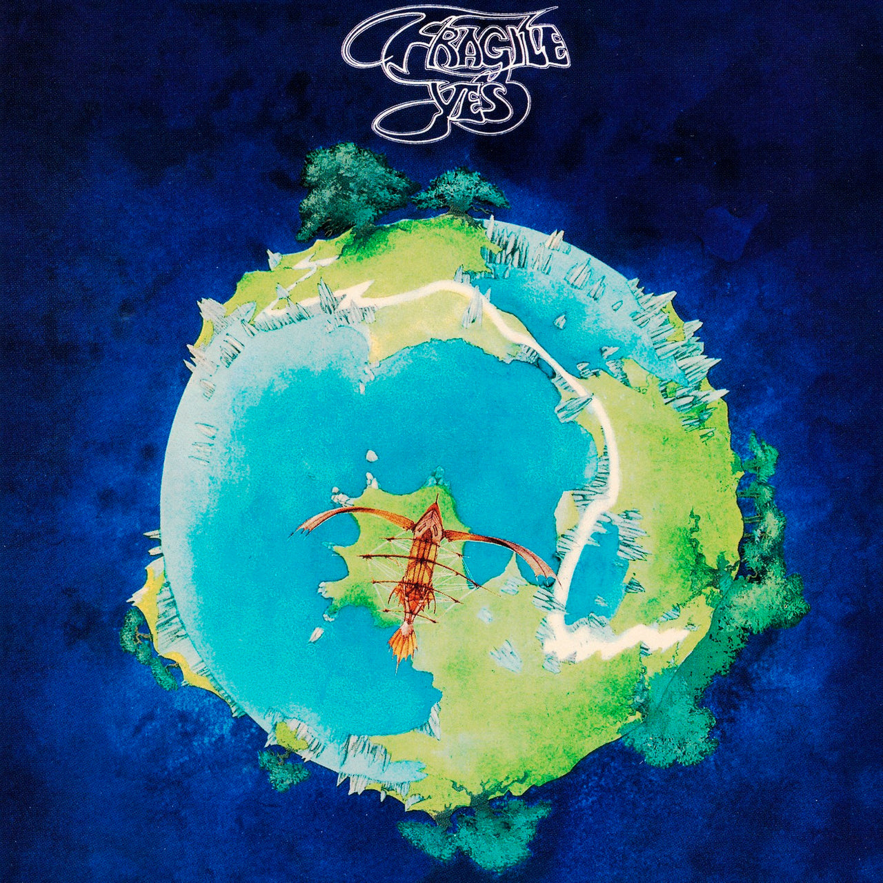 Yes : Fragile  CD