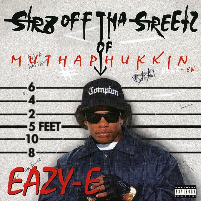 Eazy-E : Str8 Off Tha Streetz Of Muthaphukkin In C