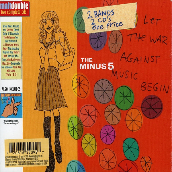 Minus Five (The) : Let The War Against Music Begin