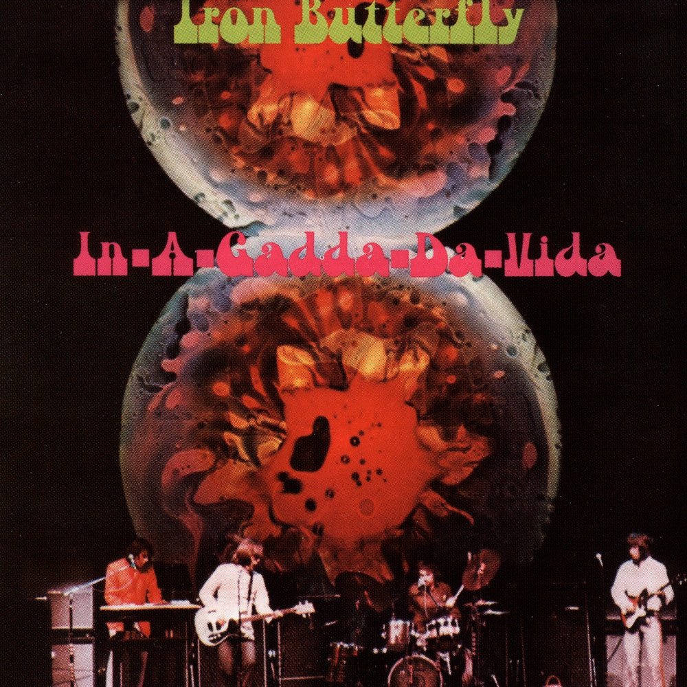 Iron Butterfly : In-A-Gadda-Da-Vida  CD