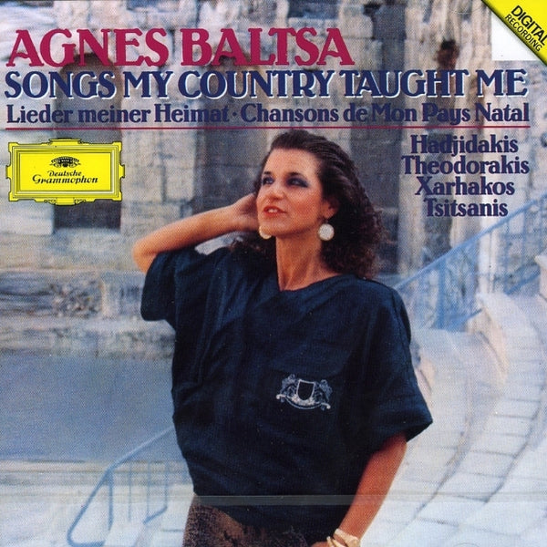Baltsa, Agnes : Songs My Country Taught Me  CD