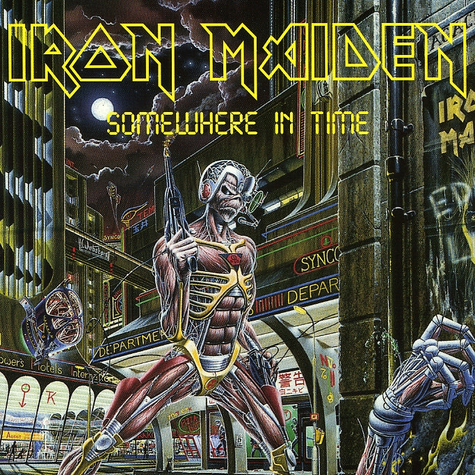 Iron Maiden : Somewhere In Time  CD