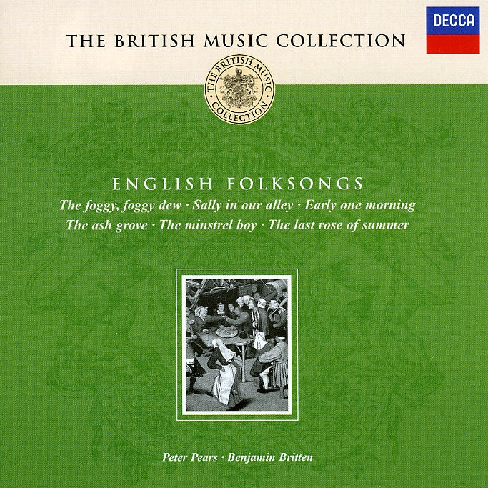 Britten, Benjamin : English Folksongs  CD