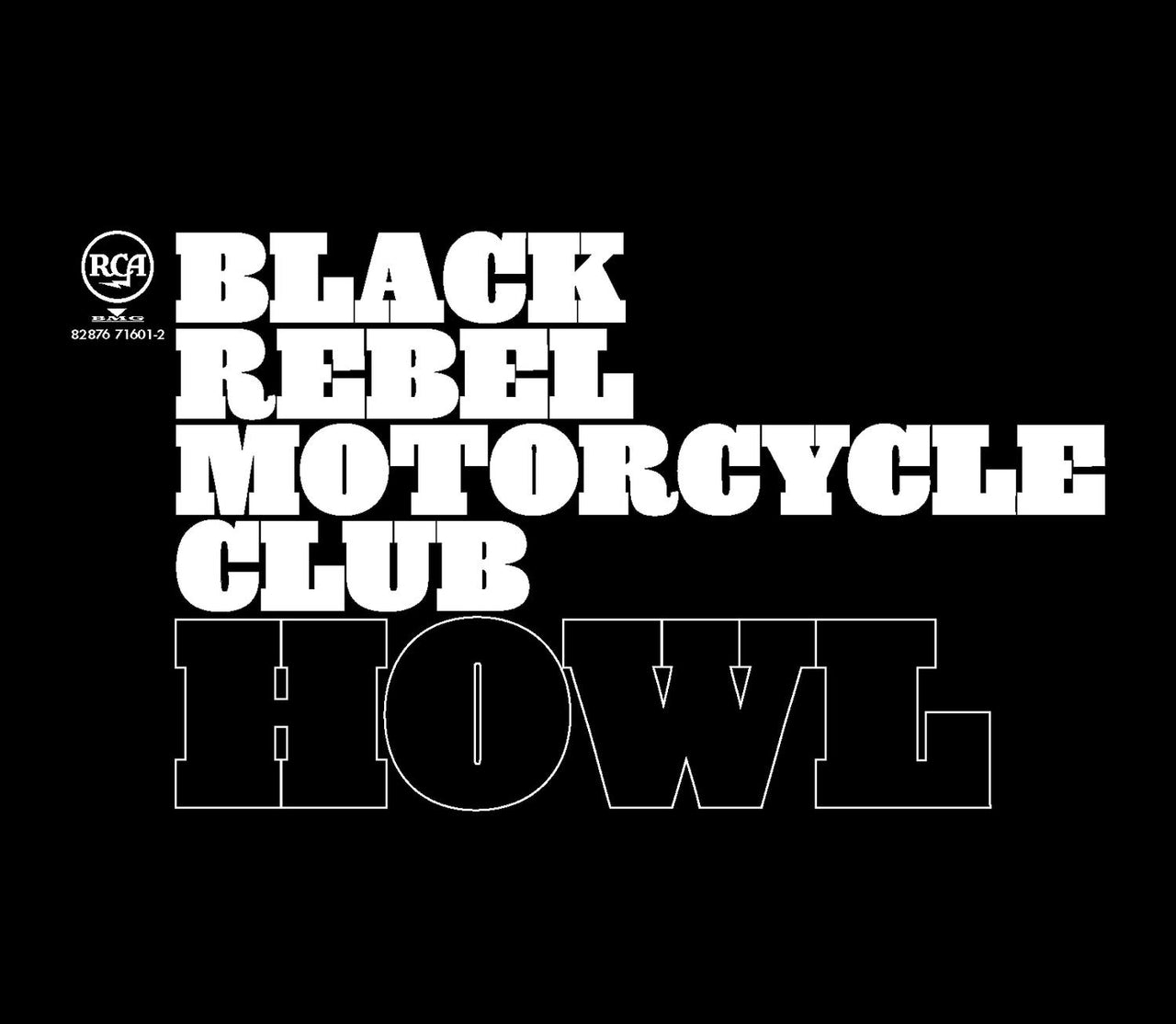Black Rebel Motorcycle Club : Howl  CD