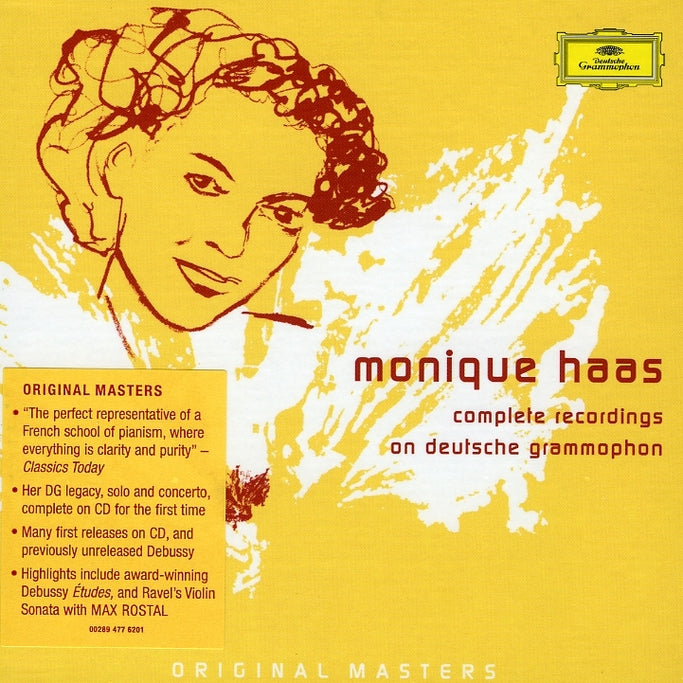 Haas, Monique : Complete Recordings On Deutsche Gr