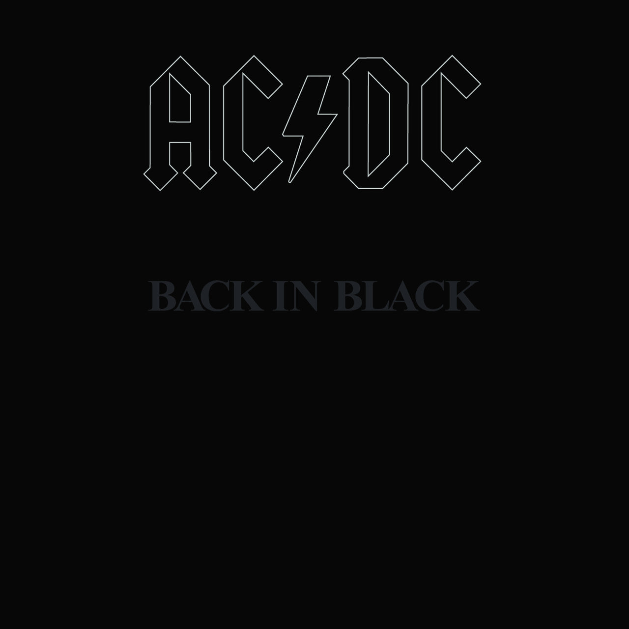AC/DC : Back In Black  CD