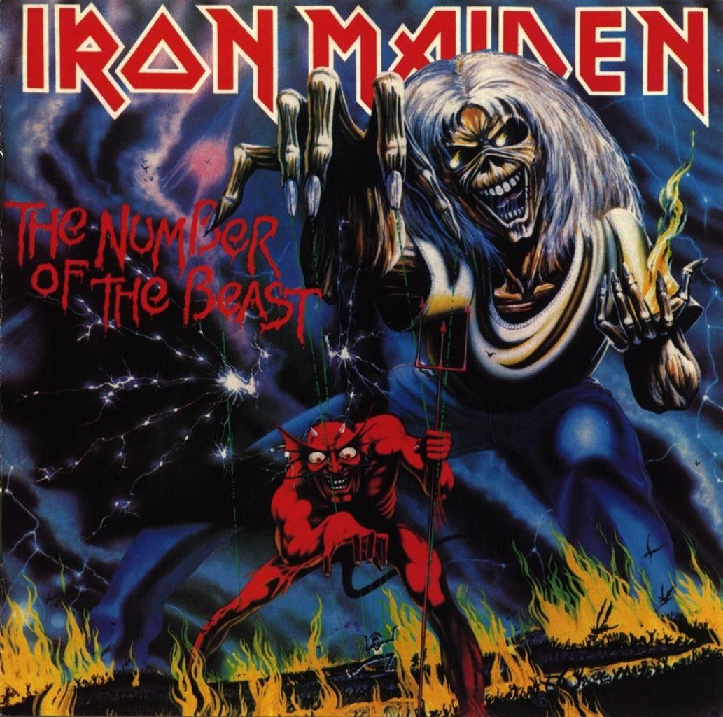 Iron Maiden : The Number Of The Beast  CD