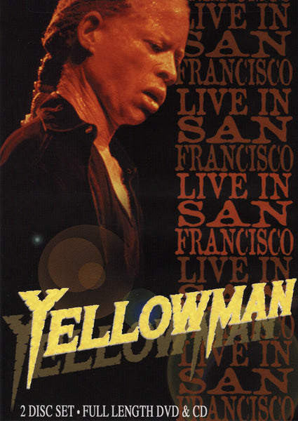 Yellowman : Live In San Francisco  DVD - CD