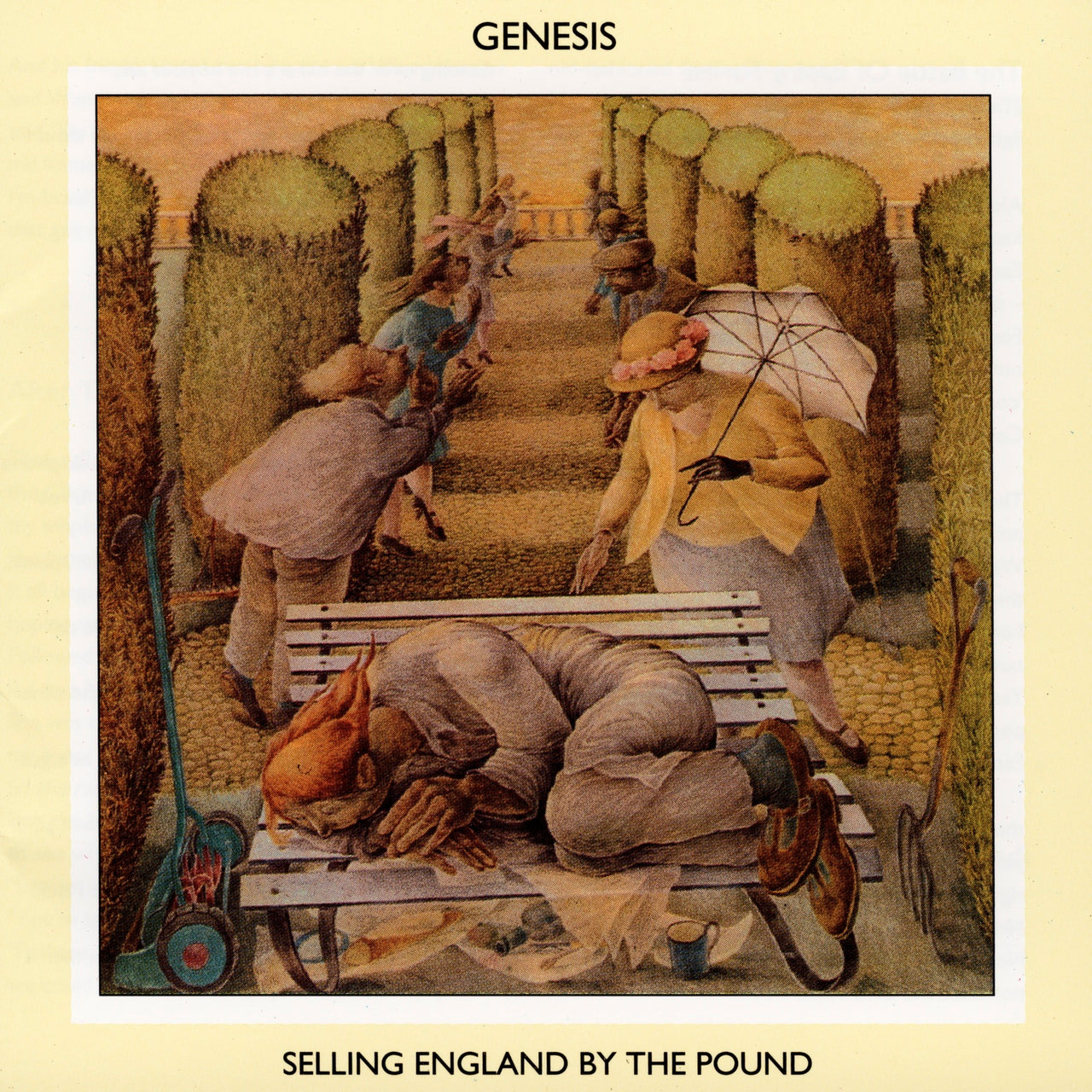 Genesis : Selling England By The Pound  CD