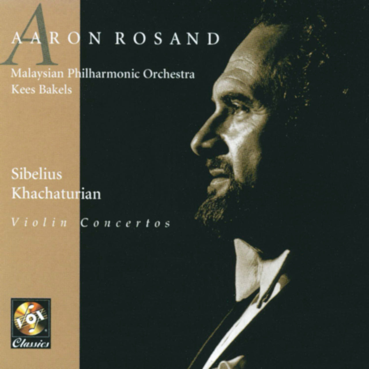Rosand, Aaron : Plays Sibelius And Khatchaturian