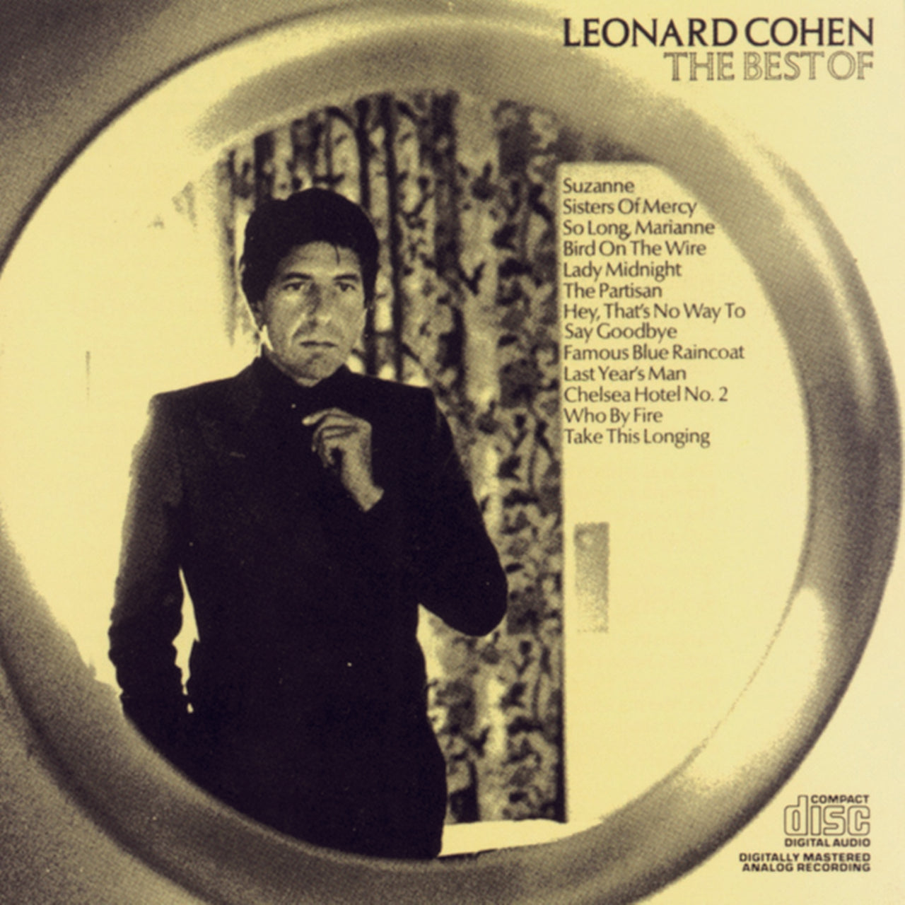 Cohen, Leonard : The Best Of Leonard Cohen  CD