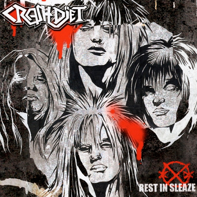 Crashdiet : Rest In Sleaze  CD