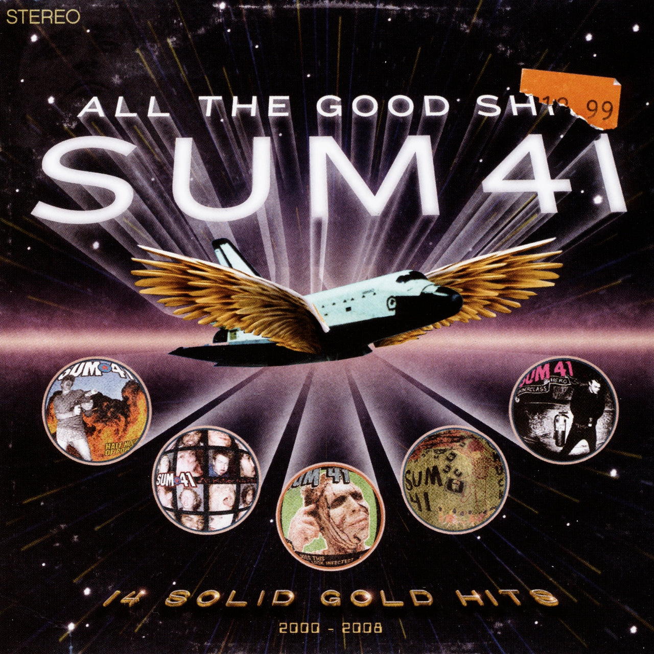 Sum 41 : All The Good Sh**: 14 Solid Gold Hits 200