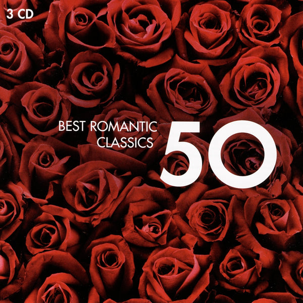 (Artistes variés) : 50 Best Romantic Classics  CD