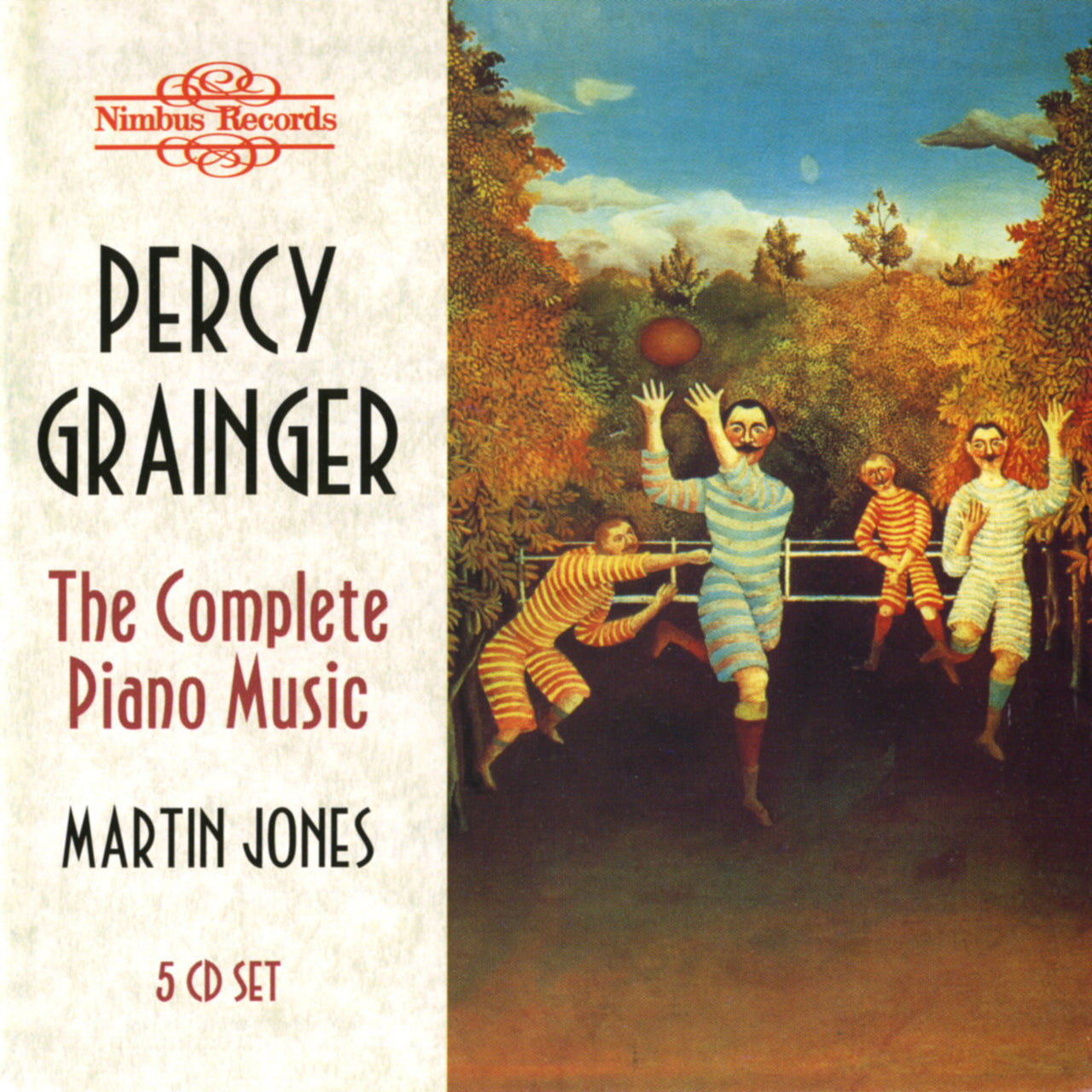 Grainger, Percy : The Complete Piano Music  CD
