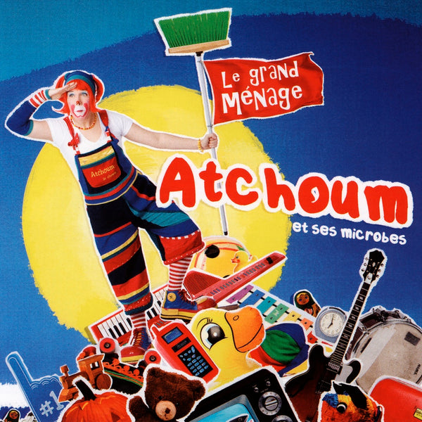 Atchoum le Clown : Le grand ménage  CD