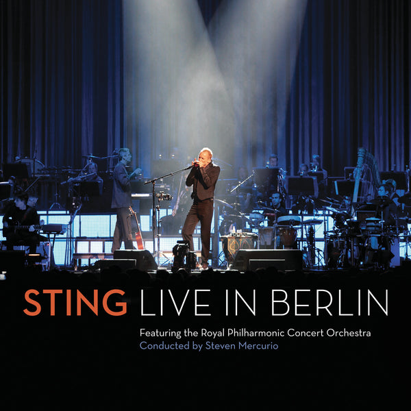 Sting : Live In Berlin  DVD - CD