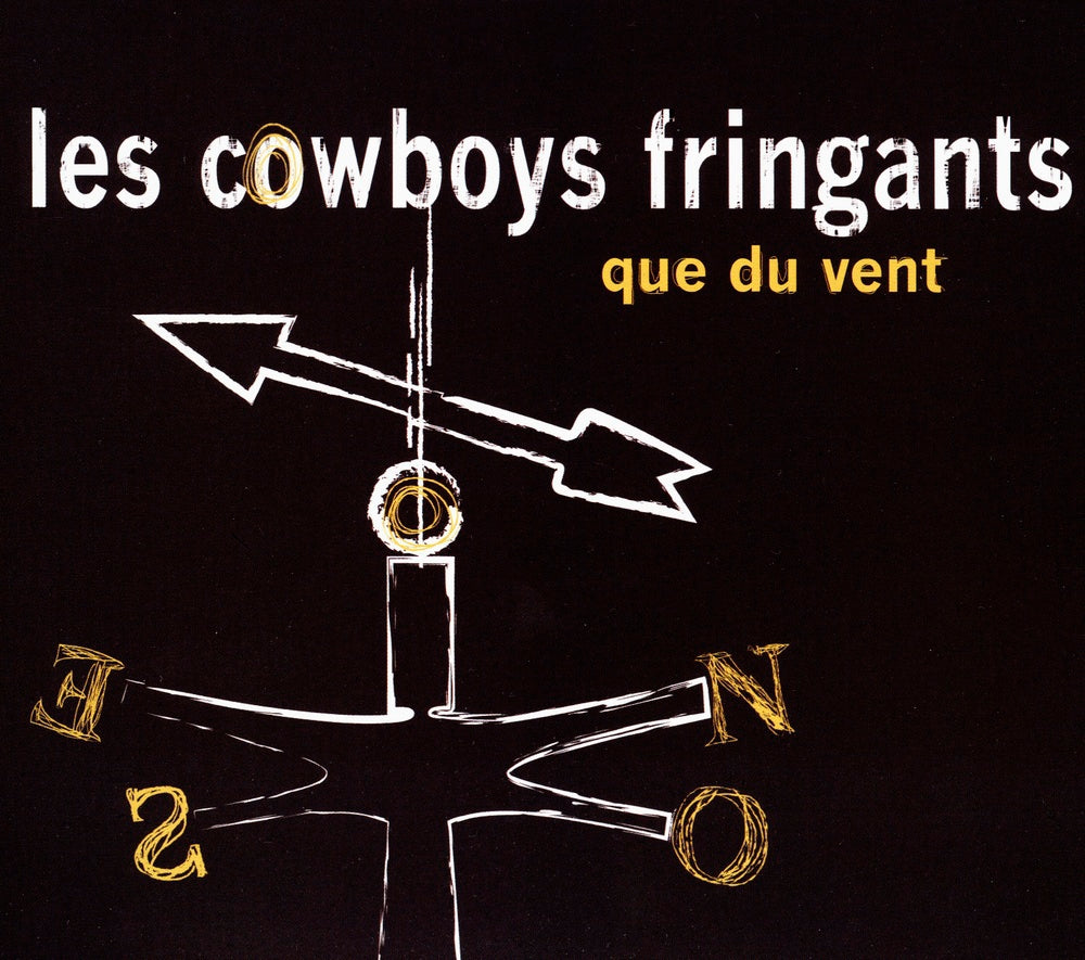 Cowboys Fringants (Les) : Que du vent  CD
