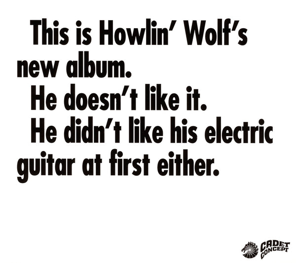 Howlin' Wolf : This Is Howlin' Wolf's New Album  C