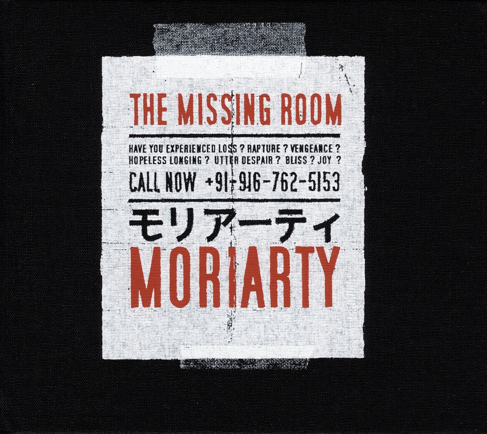 Moriarty : The Missing Room  CD