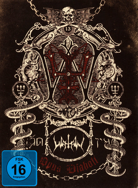 Watain : Opus Diaboli  DVD - CD