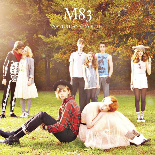 M83 : Saturdays=Youth  CD