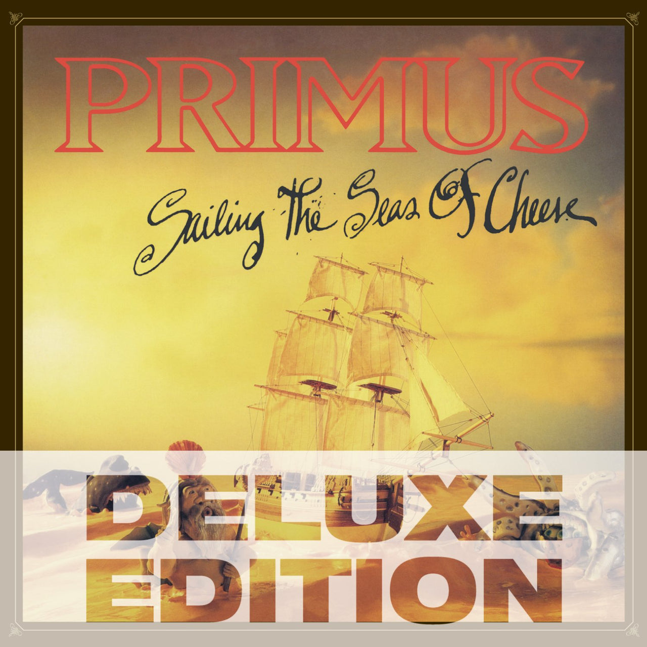 Primus : Sailing The Seas Of Cheese  DVD - CD