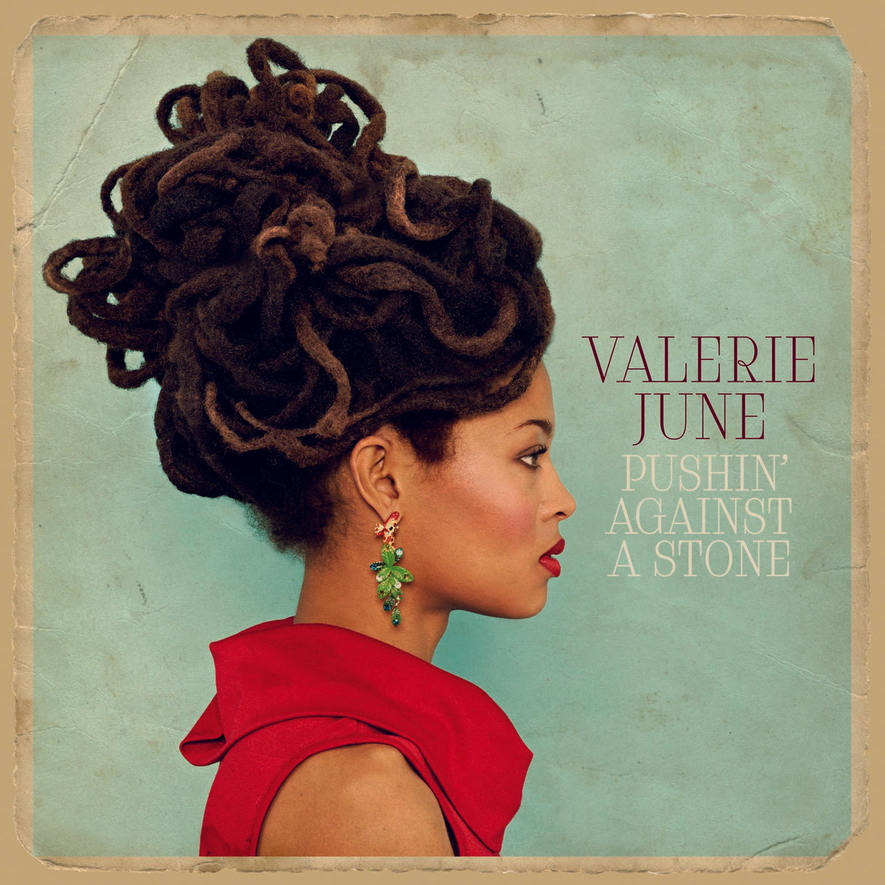 June, Valerie : Pushin' Against A Stone  CD