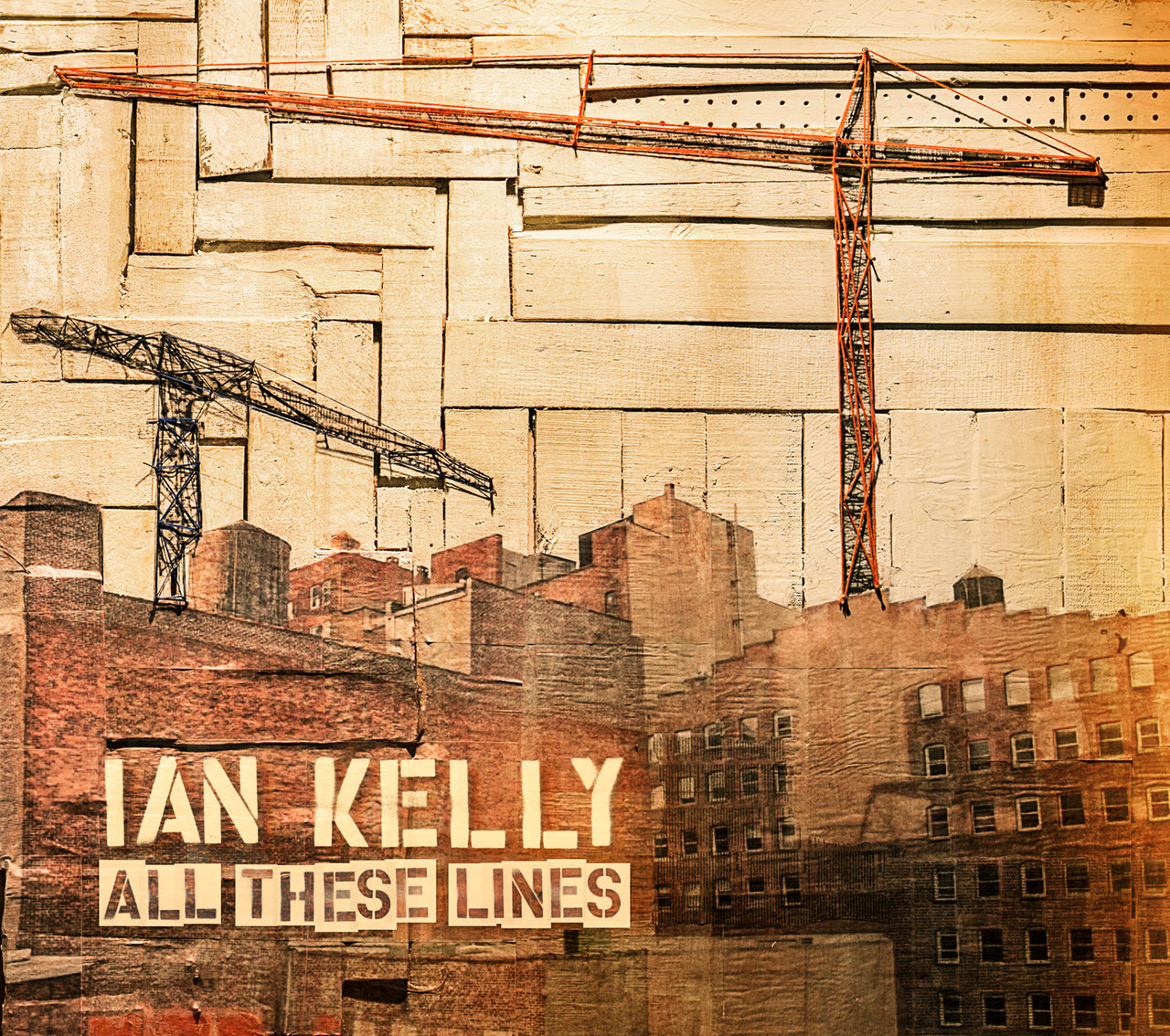 Kelly, Ian : All These Lines  CD