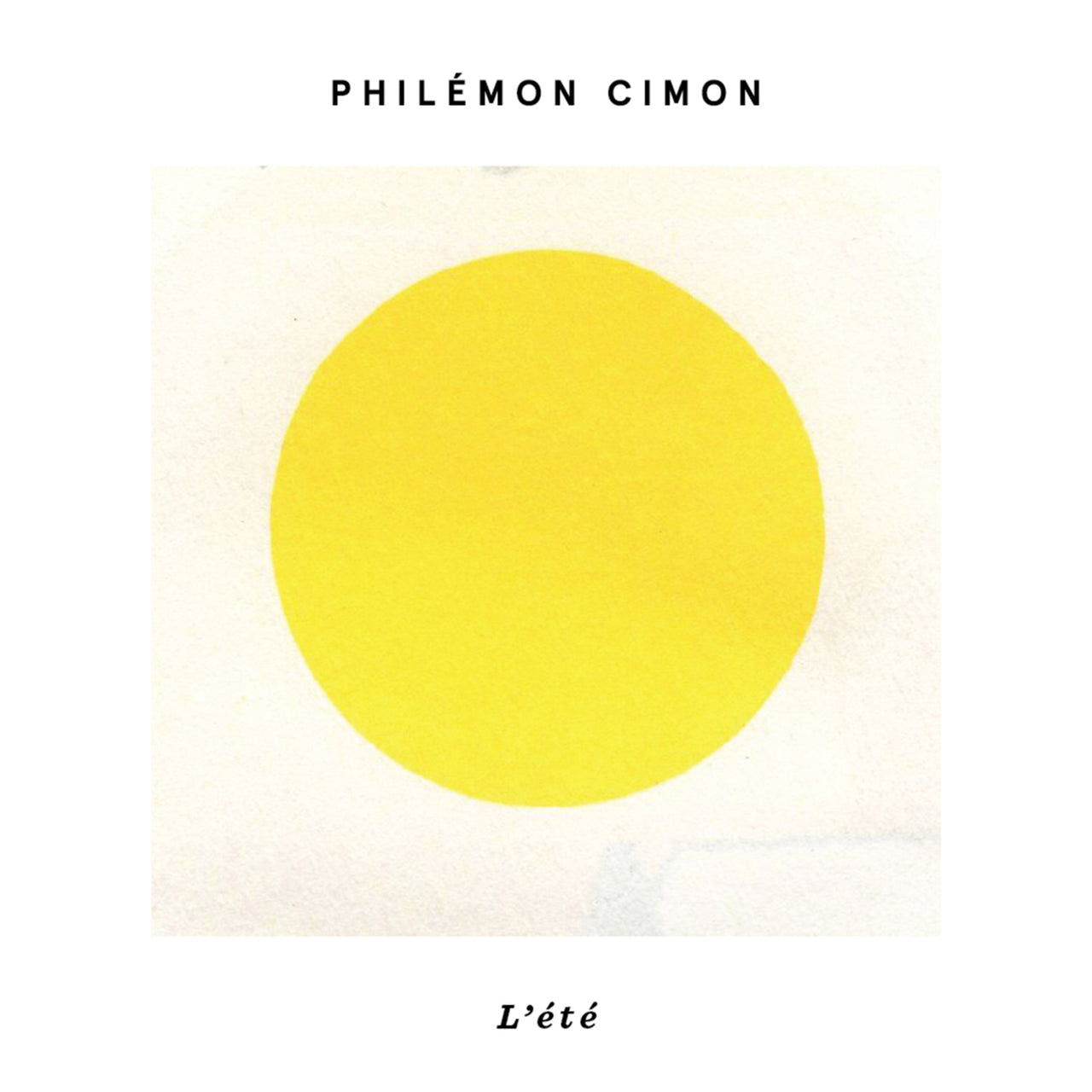 Cimon, Philémon : L'été  CD