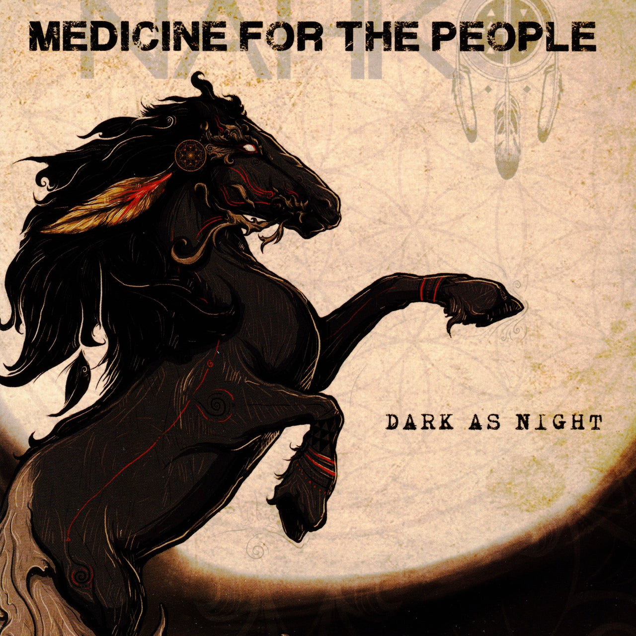 Nahko : Dark As Night  CD