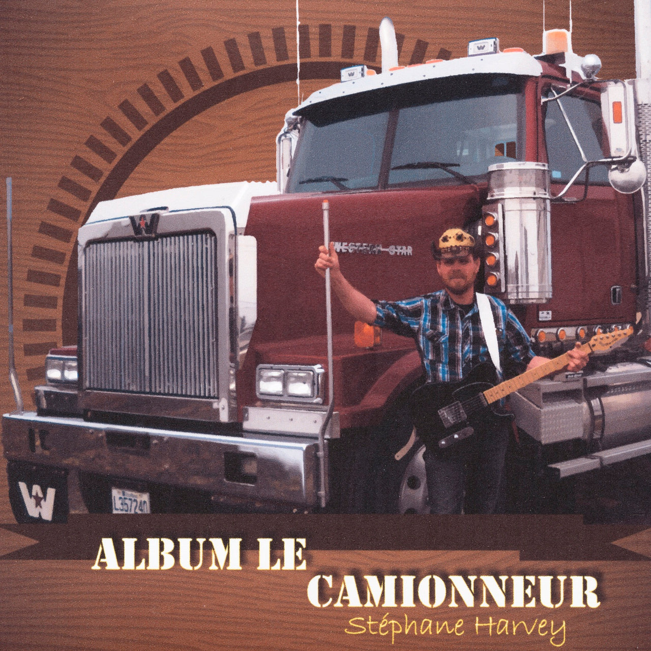Harvey, Stéphane : Album le camionneur  CD