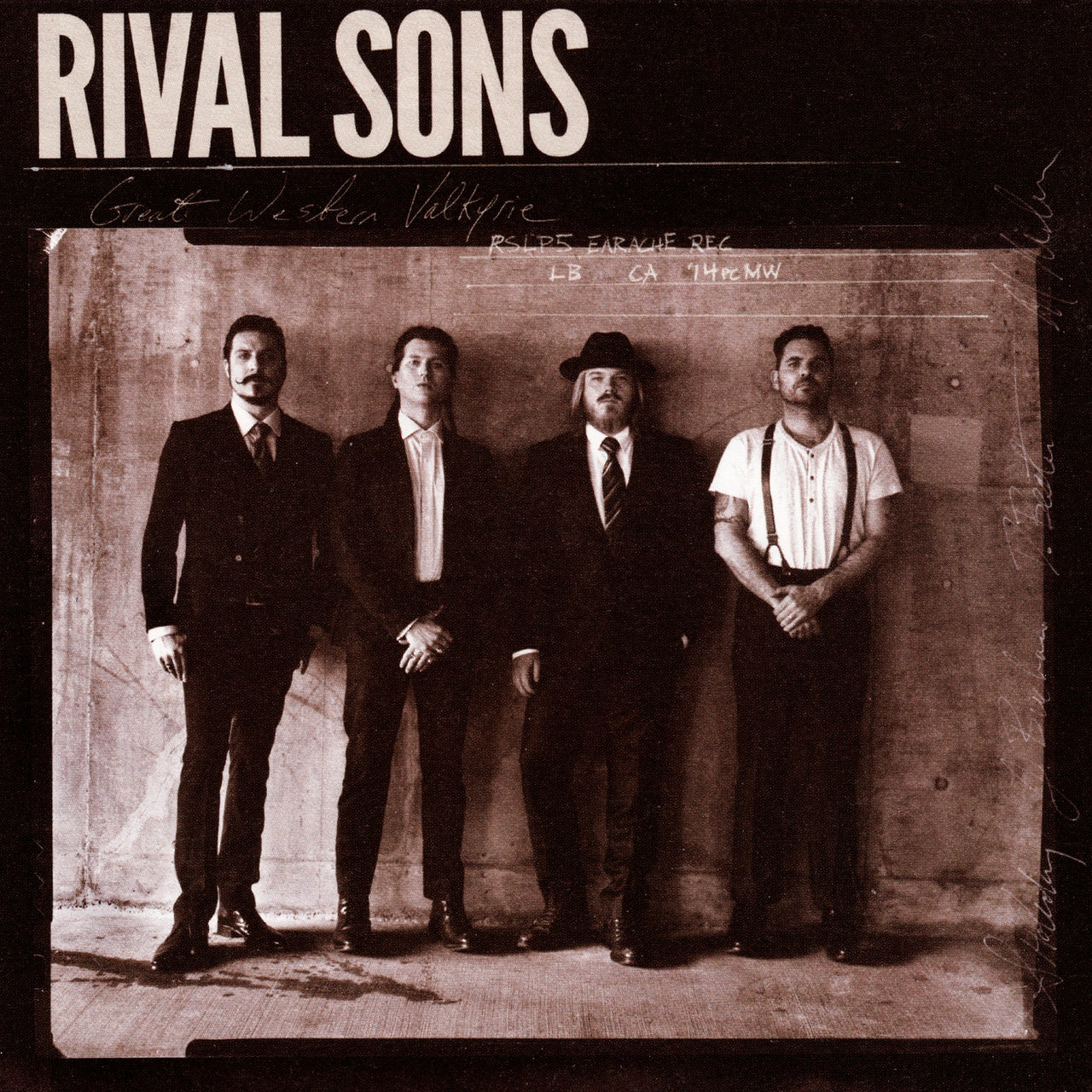 Rival Sons : Great Western Valkyrie  CD