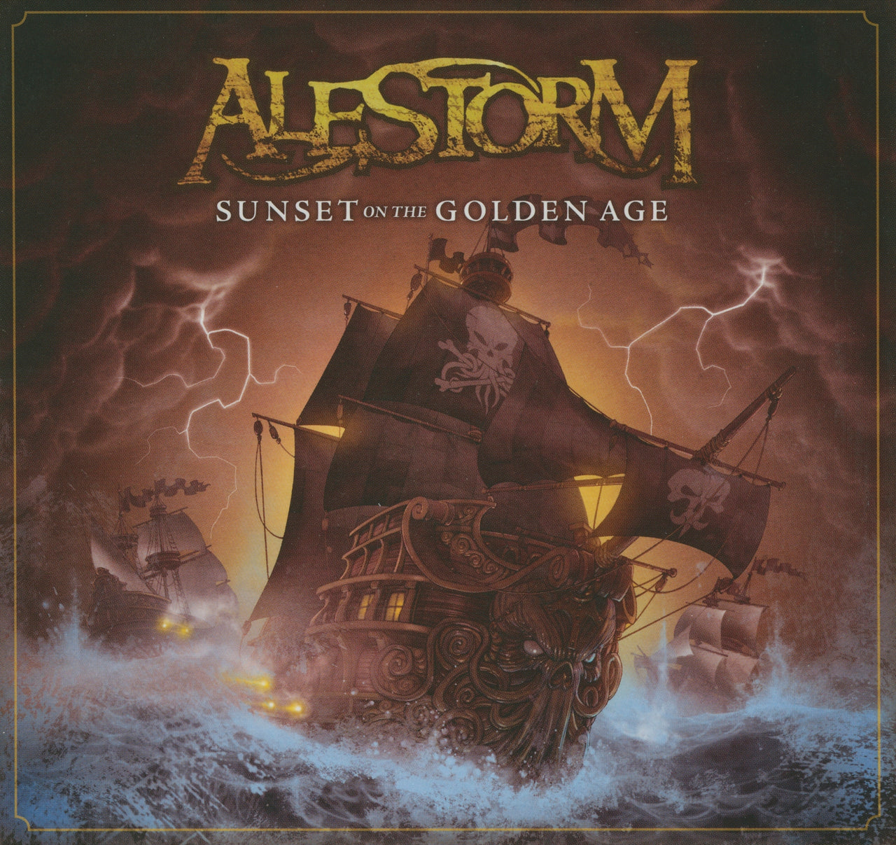 Alestorm : Sunset On The Golden Age  CD