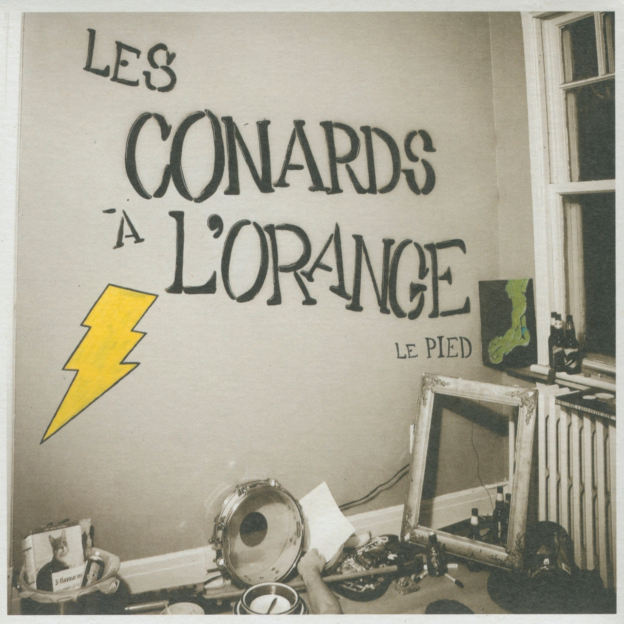 Conards à l'orange (Les) : Le pied  CD