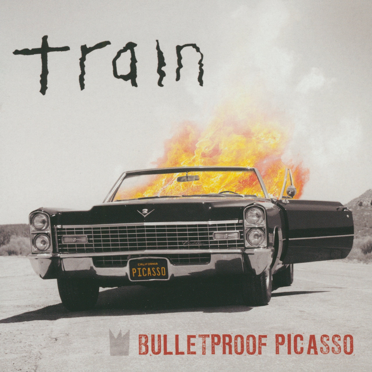 Train : Bulletproof Picasso  CD
