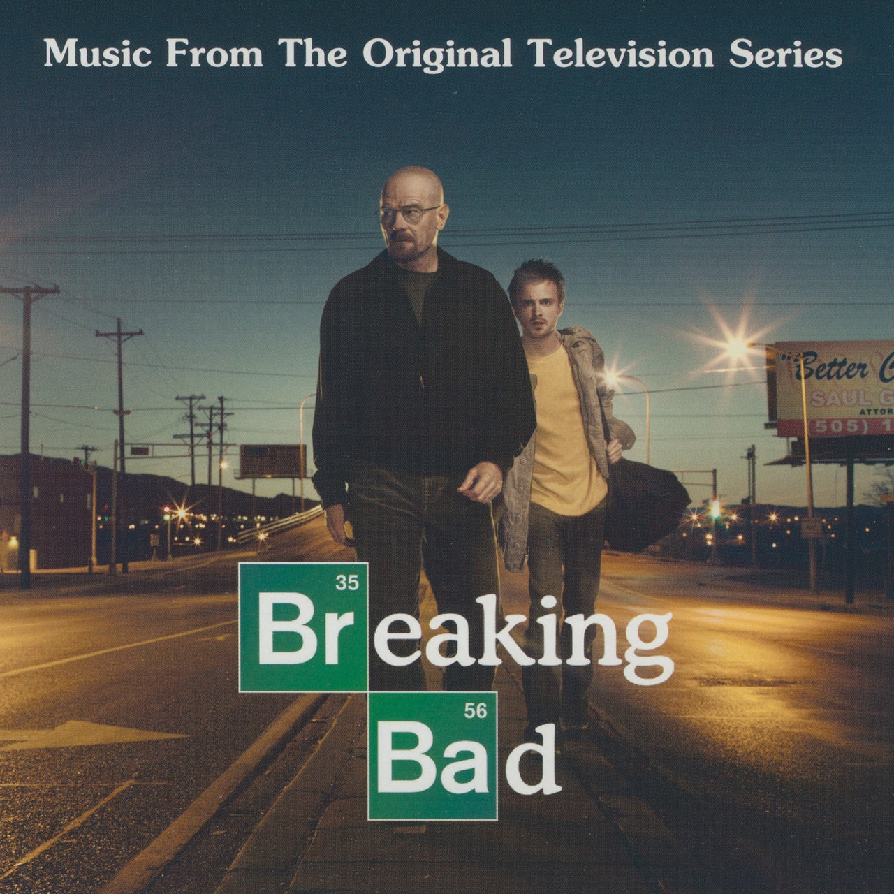 Trame sonore B : Breaking Bad  CD