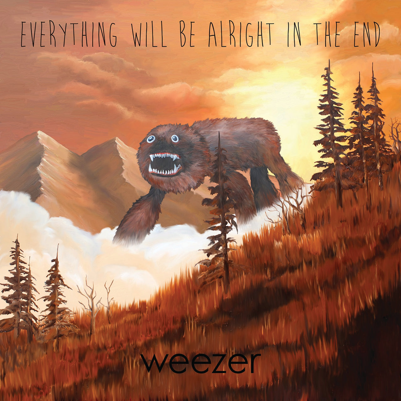 Weezer : Everything Will Be Alright In The End  CD