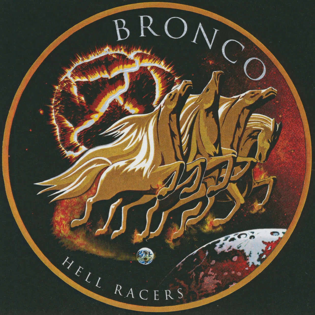 Bronco : Hell Racers  CDEP