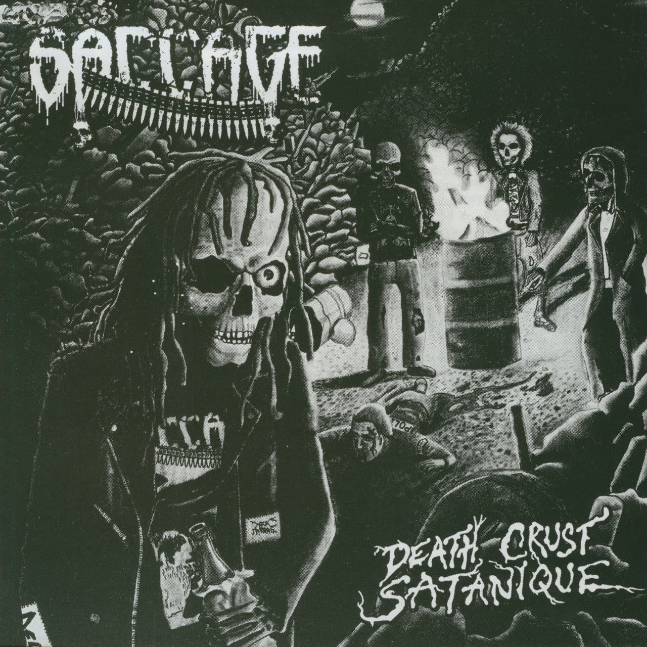 Saccage : Death Crust Satanique  CD