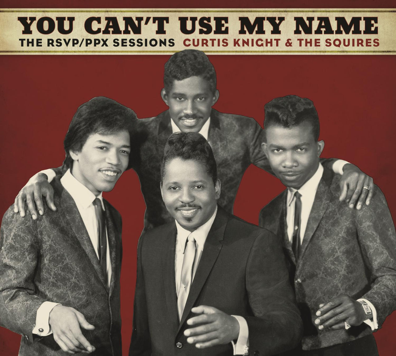 Knight, Curtis : You Can't Use My Name  LP