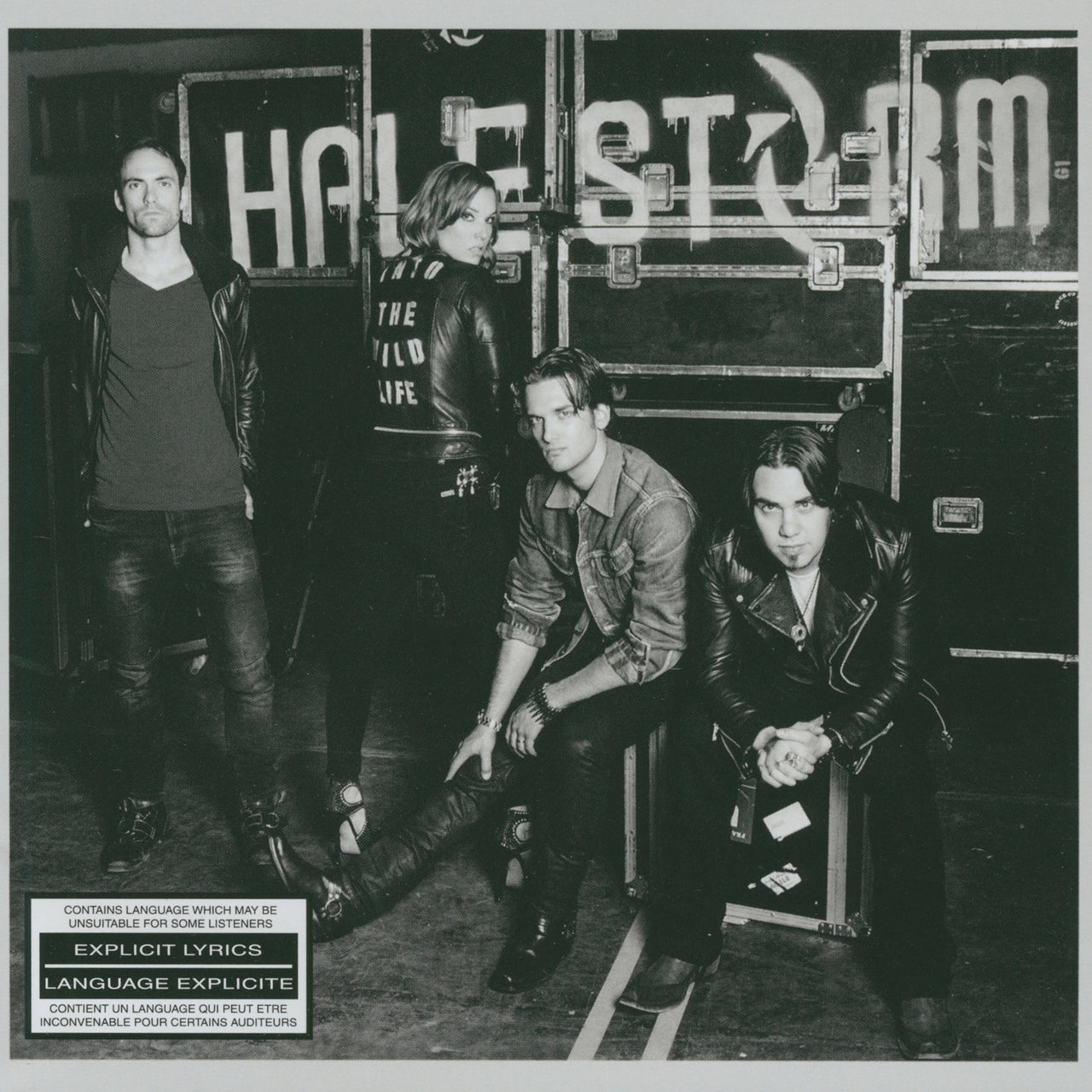 Halestorm : Into The Wild Life  CD