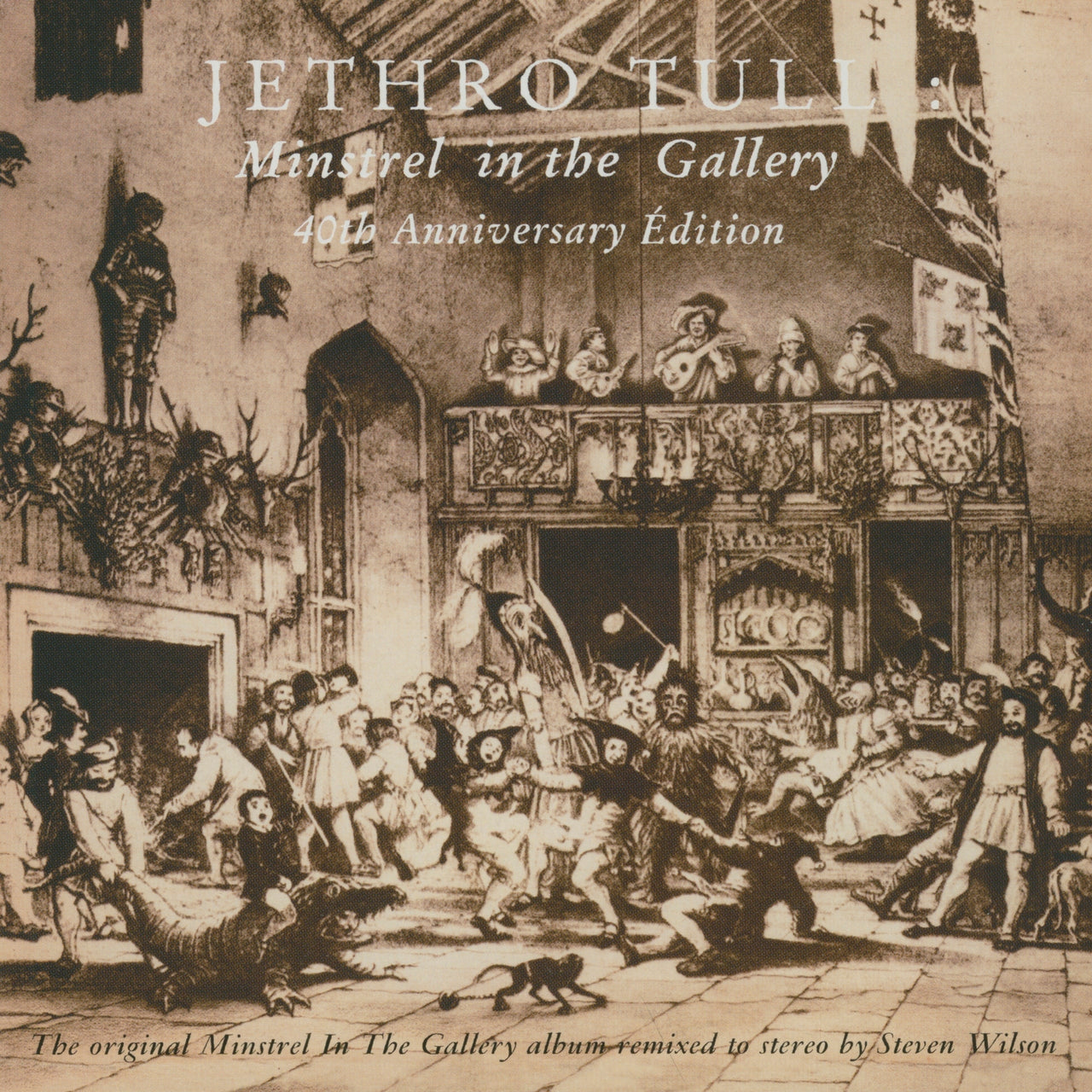 Jethro Tull : Minstrel In The Gallery  LP