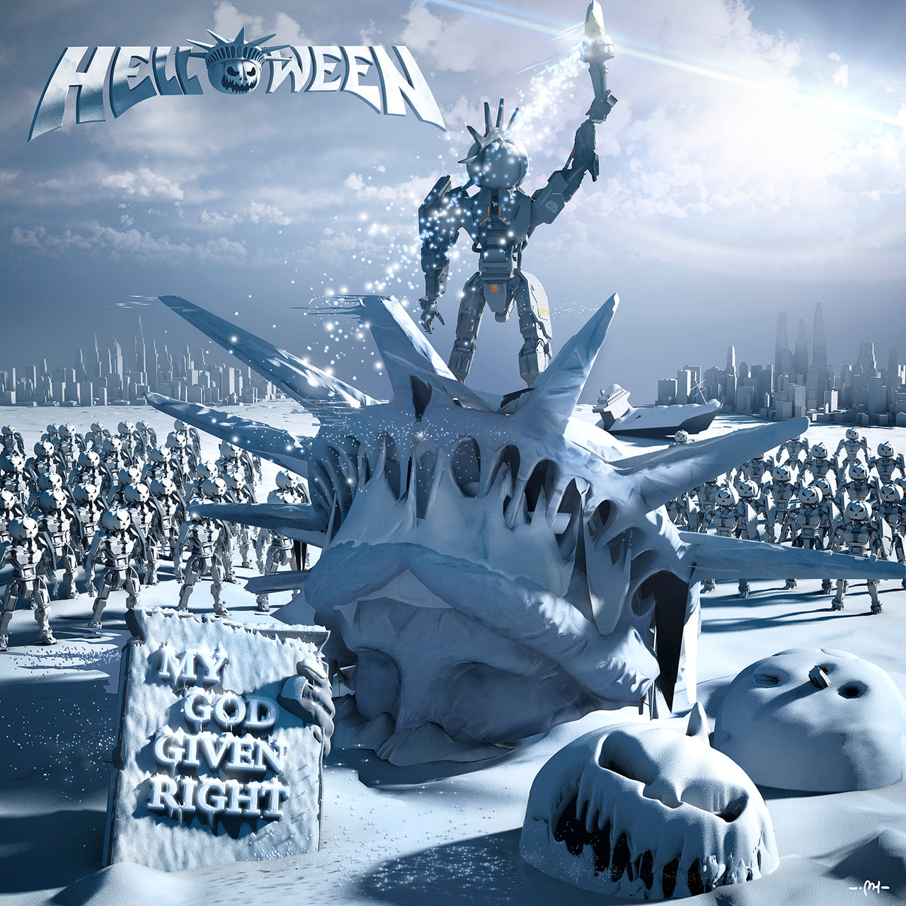 Helloween : My God-Given Right  CD
