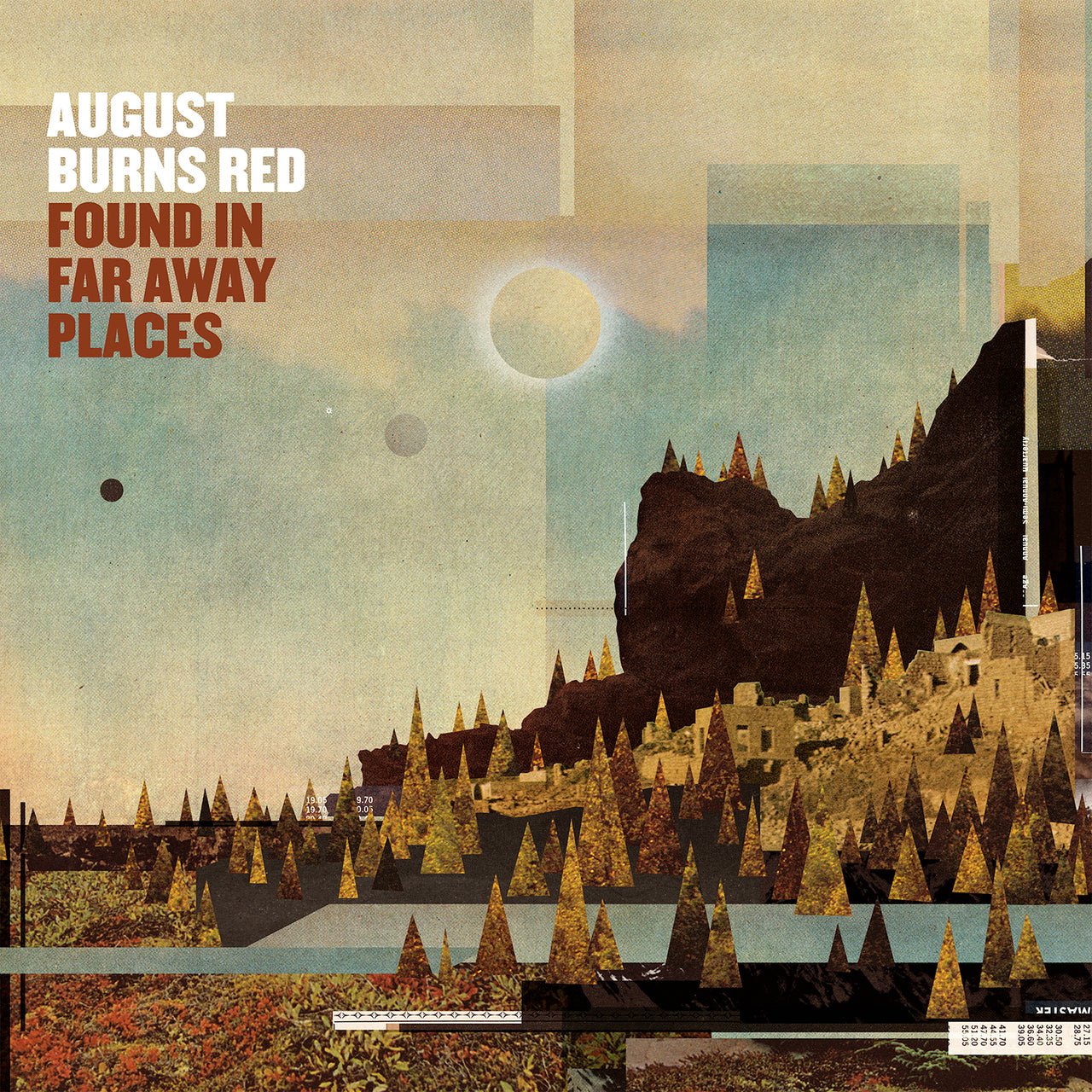 August Burns Red : Found In Far Away Places  CD