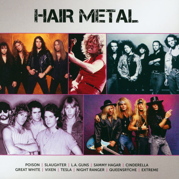 (Artistes variés) : Icon: Hair Metal  CD