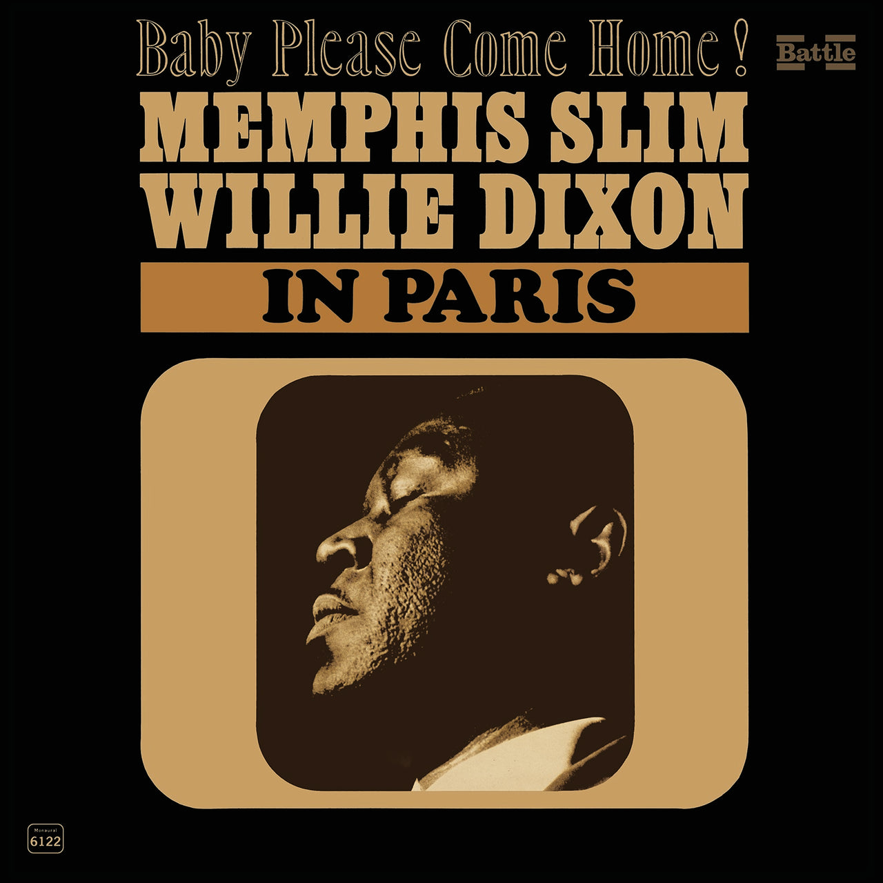 Memphis Slim : In Paris  LP