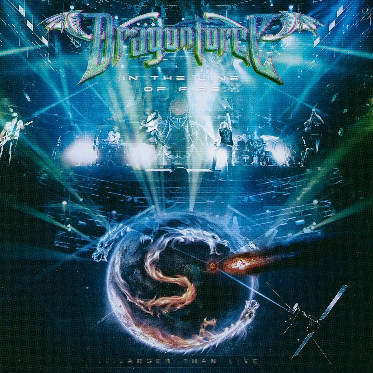 DragonForce : In The Line Of Fire (Live)  DVD - CD